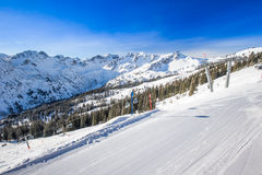 Fellhorn Ski resort, Bavarian Alps, Oberstdorf, Germany Stock Image