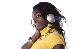 Felling the music Stock Image