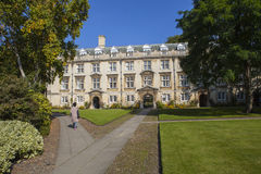 Fellows' Building at Christ's College in Cambridge Royalty Free Stock Images