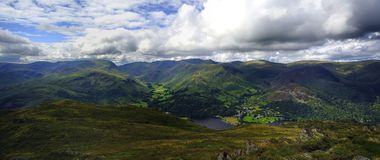 The Fells from Place Fell Royalty Free Stock Images