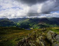 The Fells from Place Fell Royalty Free Stock Photo