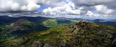 The Fells from Place Fell Stock Images