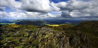 The Fells from Place Fell Royalty Free Stock Image