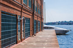 Fells Point/ Canton Waterfront in Baltimore, Maryland.  stock photos