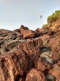Felsen Stockbild