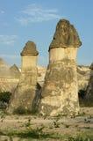 Felsen-Anordnung Pasabagi Cappadocia, die Türkei Lizenzfreies Stockfoto