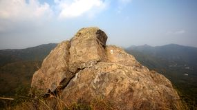 Felsen auf Berg Stockfotos