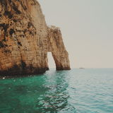 Felsen auf dem Meer Lizenzfreies Stockbild
