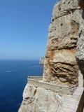 Felsen auf dem Meer Lizenzfreie Stockfotos