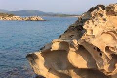 Felsen auf der Küste Lizenzfreies Stockbild