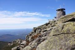 Felsen auf die Oberseite des Whiteface Berges Lizenzfreies Stockfoto