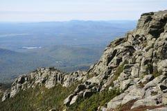 Felsen auf die Oberseite des Whiteface Berges Stockbilder