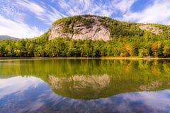 Felsen auf Echo Lake Stockfoto