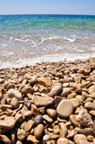 Felsen auf einem Strand Lizenzfreies Stockbild