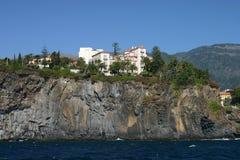 Felsen auf Madeira Stockfoto