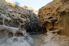 Felsen auf Qeshm-Insel - der Iran Lizenzfreies Stockfoto