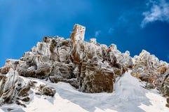 Felsen auf Sabalan Stockfotografie