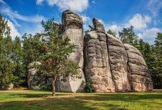Felsen auf Tschechisch Lizenzfreie Stockbilder