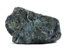 Felsen auf Weiß Stockfotos