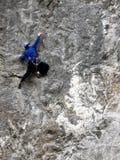 Felsen-Bergsteiger Stockbilder