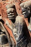 Felsen Carvings Stockfotos