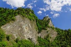 Felsen in den Bergen Stockbild