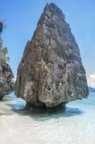 Felsen in den Philippinen Stockbild