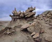 Felsen an der Fantasie-Schlucht Stockbilder