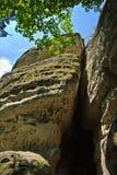 Felsen in der Tschechischen Republik Lizenzfreie Stockfotografie