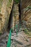 Felsen in der Tschechischen Republik Stockfoto