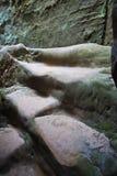 Felsen in der Tschechischen Republik Stockbilder