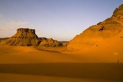 Felsen in der Wüste Lizenzfreies Stockfoto