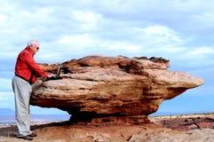 Felsen-ein-Schreibtisch Lizenzfreie Stockfotografie
