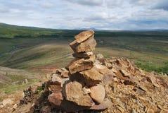 Felsen in einem Berg Lizenzfreie Stockbilder