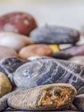 Felsen in einem Stapel stockbild