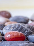 Felsen in einem Stapel lizenzfreie stockfotografie