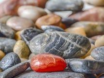 Felsen in einem Stapel stockfotos