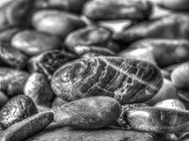 Felsen in einem Stapel stockbilder