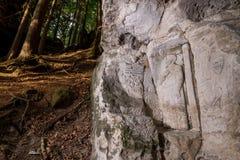 Felsen-Entlastungen nahe Kopicuv-statek Stockfotos