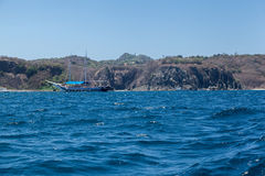 Felsen in Fernando de Noronha Island Lizenzfreie Stockfotografie