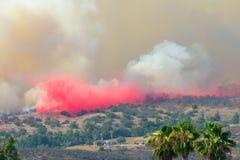 Felsen-Feuer San Diego California Stockbild