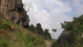 Felsen, Flusssteine, Geologie, Sediment, Natur stock video