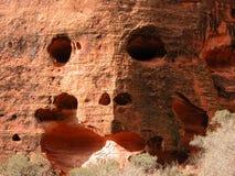 Felsen-Gesicht lizenzfreies stockbild