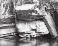 Felsen-Gesicht stockfotos