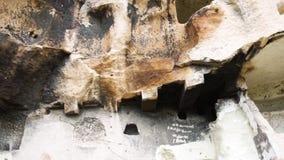 Felsen-Grab Phrygia-Tal in der Türkei stock footage