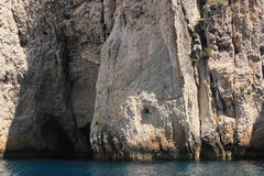 Felsen in Griechenland Stockfotos