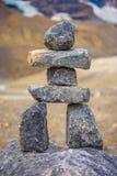 Felsen häuft Jasper National Park an lizenzfreie stockfotografie