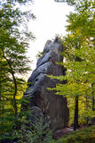 Felsen, Himmel, Berge ein Wald Stockfotografie