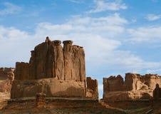 Felsen im Nationalpark-Kapitol-Riff Lizenzfreie Stockbilder