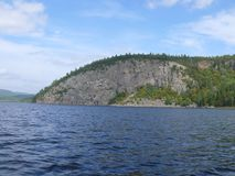 Felsen im Pembroke Kanada, Nordamerika lizenzfreie stockfotos